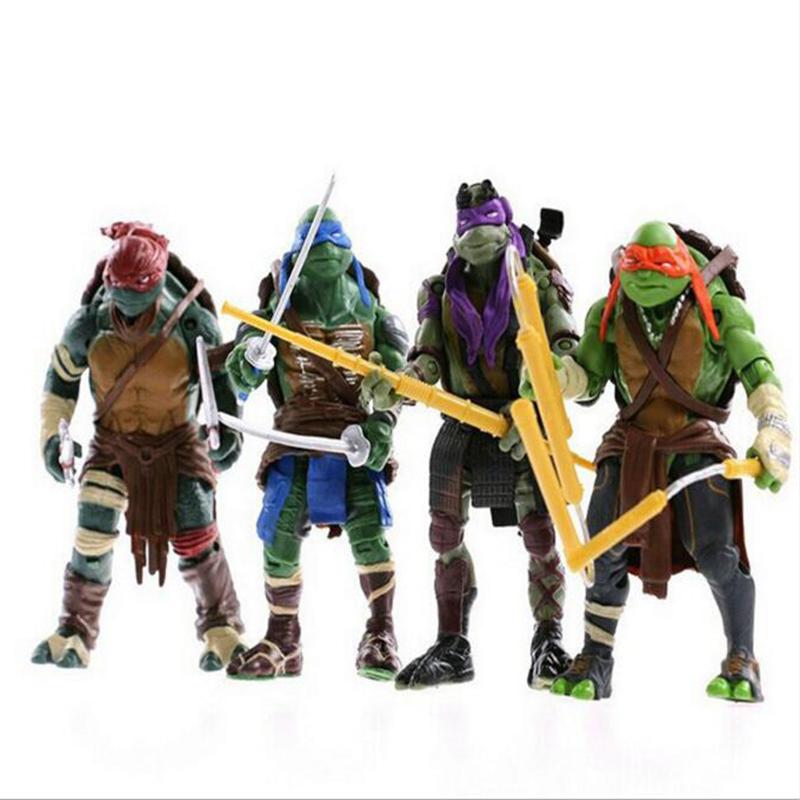 2016 New NECA Toy Teenage Mutant Ninja Turtles hasbroeINGlys Action Figure TMNT Model Toys For Boys Juguetes Gift Brinquedosm312(China (Mainland))