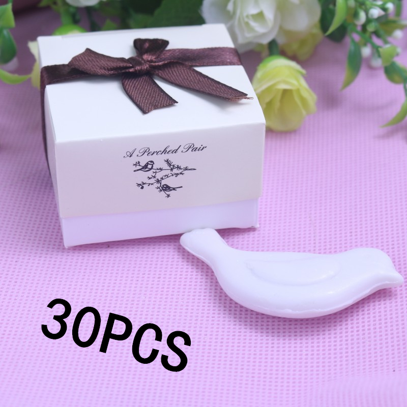 Home Party Favor Mini Soap Love Bird Box For Wedding Favours Bomboniere Party Bridal Baby Shower Baptism Religious Favor(China (Mainland))
