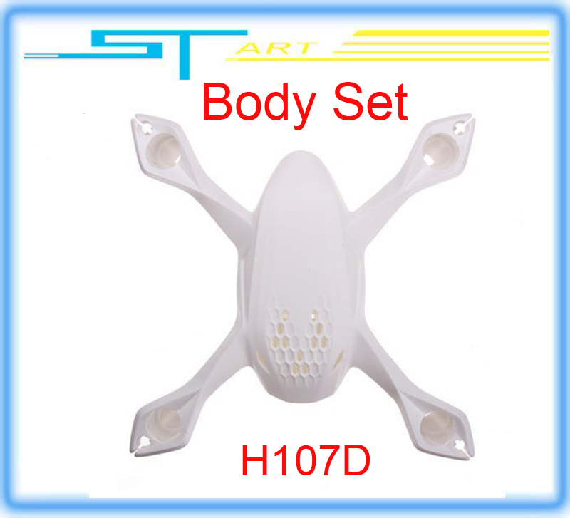 10pcs/lot Free Shipping Hubsan H107D Spare Parts Body set Shell for X4 drone helicopter FPV RC Quadcopter remote control Toy<br><br>Aliexpress