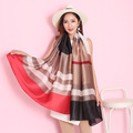 Vanled 2017 luxury brand scarf women shawls and wraps summer print soft long size silk scarves