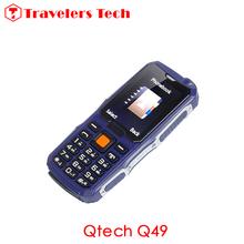 Unlocked CDMA Mobile Phone 2.4 Inch Qtech Q49 Single SIM Card 4800mAh Big Battery Support CDMA800MHz Highlight Torch(China (Mainland))