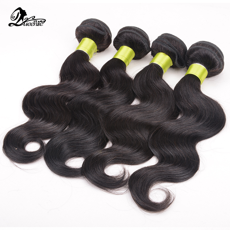Queenie Hair Brazilian Body Wave  3Pcs Lot Unprocessed Human Hair Weave Remy Virgin Hair Weaving Extension 3 Bundles Bodywave