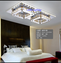 Free Shipping Fashion LED K9 Crystal Ceiling Designs Chandelier Lamps / Lights / Lighting Fixtures (Model:CZ009/2)(China (Mainland))