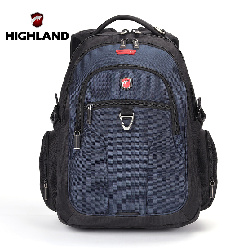 HIGHLAND Brand Large Capacity Children's Backpacks Waterproof Polyester School Backpack For Teenagers Girls Boys Womens bags(China (Mainland))