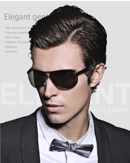 Горячая 2015 мода мужская UV400 поляризованные покрытия мужчины вождения зеркала ...