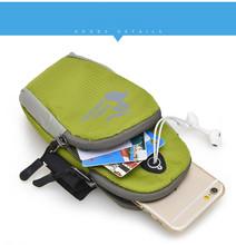 Running SPORT GYM Phone Bag Jogging Running Bag Brassard Arm Band Phone Case for Samsung Galaxy