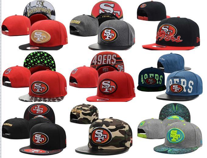 2016 NO-10 NEW arrive Free fast shipping Best Quality 21 Style San Francisco 49ers Snapbacks cap gorras bones hats(China (Mainland))
