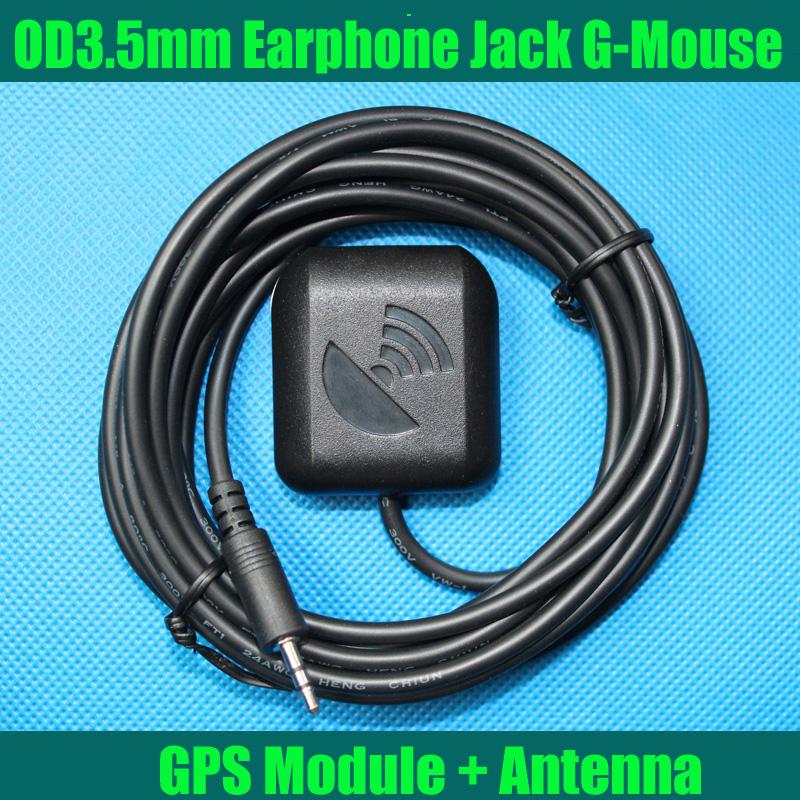 Диаметр 3.5 мм разъем для наушников интерфейс магнитным основанием водонепроницаемый GPS модуль с антенной UBLOX TTL выход G-MOUSE для автомобильный видеорегистратор