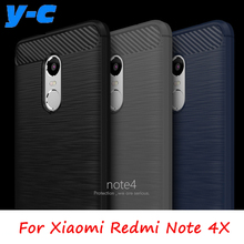 Buy Xiaomi Redmi Note 4X Case High Anti-knock Carbon Fiber TPU Silicon Case Cover Xiaomi Redmi Note 4 Global Version Co.,Ltd) for $3.29 in AliExpress store