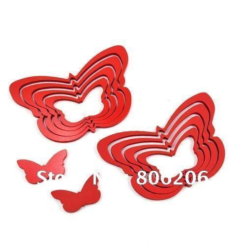 Free Shipping Beautiful Butterfly Design Home Decoration DIY Three-dimensional Wall Sticker TM-Y13017