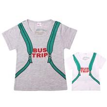 (1 pieces/lot) 100% Cotton Brand Spring Summer Children Short Sleeve T-Shirts Kids Clothing Tees Baby Boy Girl Cartoon Tops