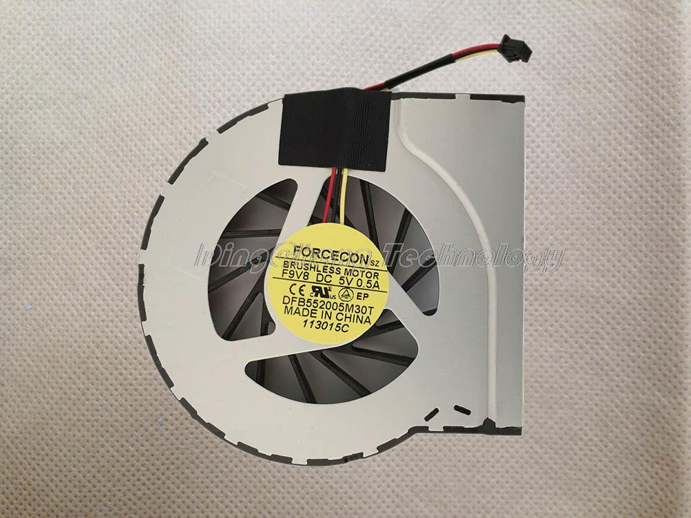 Free shipping Original and New CPU Cooling fan FOR HP DV7 dv7-4000 DV6-3000 DFB552005M30T F9V8 100% fully test(China (Mainland))