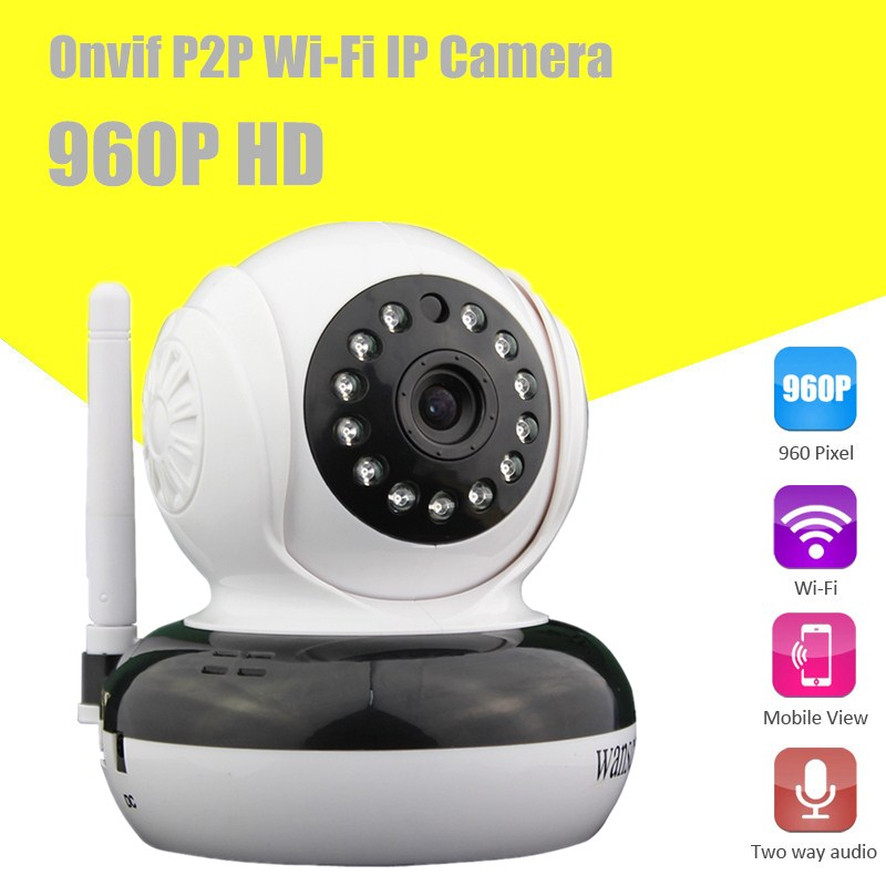 Wanscam HW0046 H.264 P2P IR-Cut 960P HD One Key Setting Function Onvif Protocol Wifi Indoor IP Camera Motion Detect(China (Mainland))