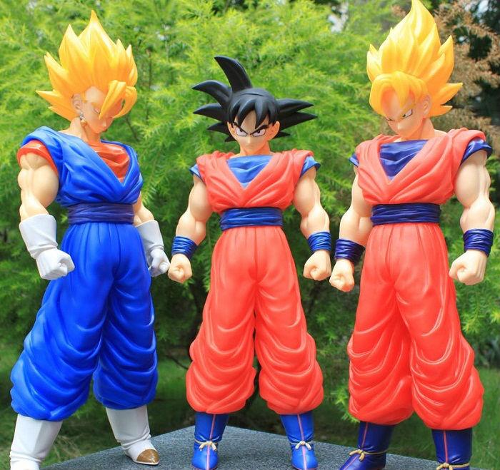 Japan Anime Dragon Ball Z Son Goku(3 OPTIONS to select) PVC Action Figure SIZE:15.7''/40CM Heiht Christmas Gift(China (Mainland))