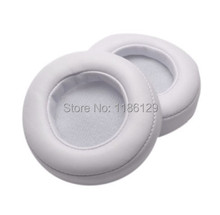 Ear pads cushion cover earpad foam replacement parts for Beats MIXR beatsmixr mix Headphones WHITE(China (Mainland))