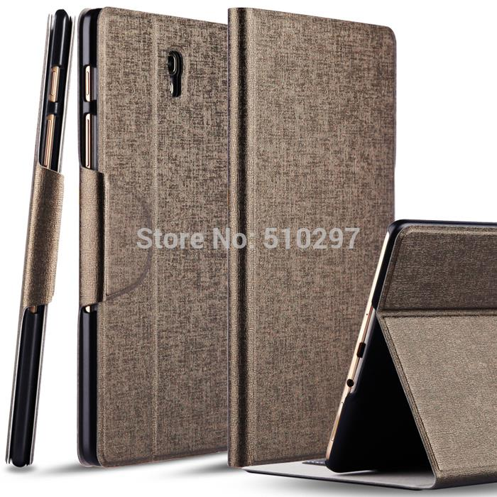 Wholesale Luxury Gold Ultra-thin Smart PU Leather Cover Wallet Case for Samsung Galaxy Tab S 8.4 T700 T705 with Stand case<br><br>Aliexpress