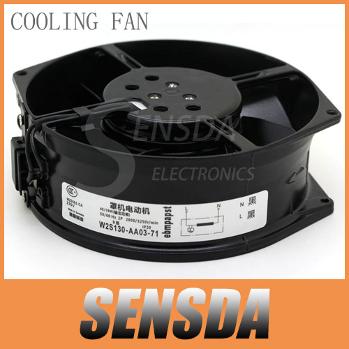 Free Shipping ebmpapst W2S130-AA03-71 17cm 170mm industrial machine all metal axial cooling fans radiator blower(China (Mainland))