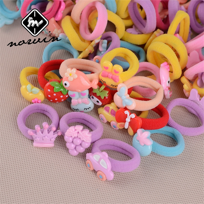 Norvin Hair Accessories Girls Towel Ring Elastic Hair Fashion Rubber Bands Accessories Hair Elastic Hair CP00048