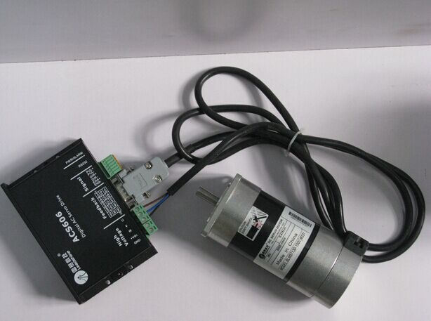 57mm 130W Brushless DC Servo Motor Dirve Kit 3000RPM 1000 Line 4000ppr BLM57130-1000+ACS606(China (Mainland))