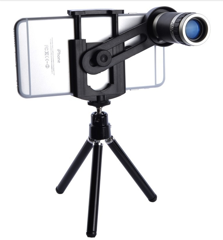Watch birds with 8x tripod camera zoom telescope for nokia watch mobile phone(China (Mainland))