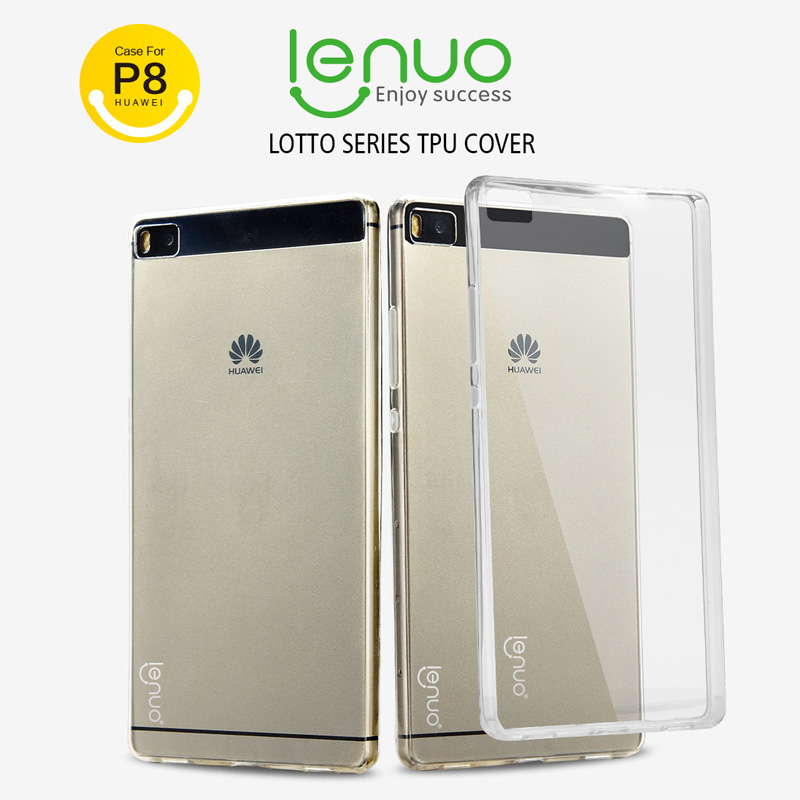 Original Nillkin Lenuo Lotto Series TPU case for Huawei Ascend P8 with retail package freeshipping(China (Mainland))