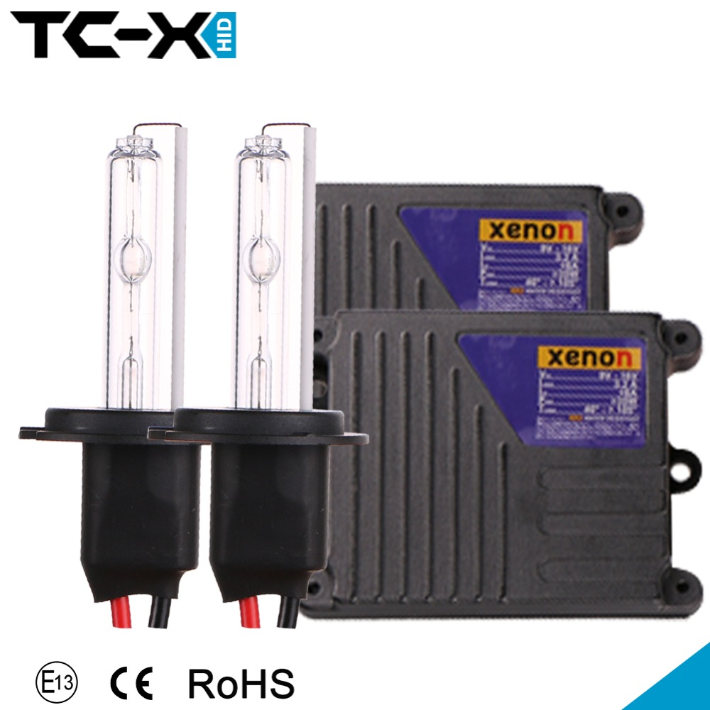 H7 HID Kit DC 35W 3000K 4300K 6000K 8000K HID Lamp Conversion Kit Slim Ballast Car Headlight Xenon Bulbs Replacement Wholesale(China (Mainland))