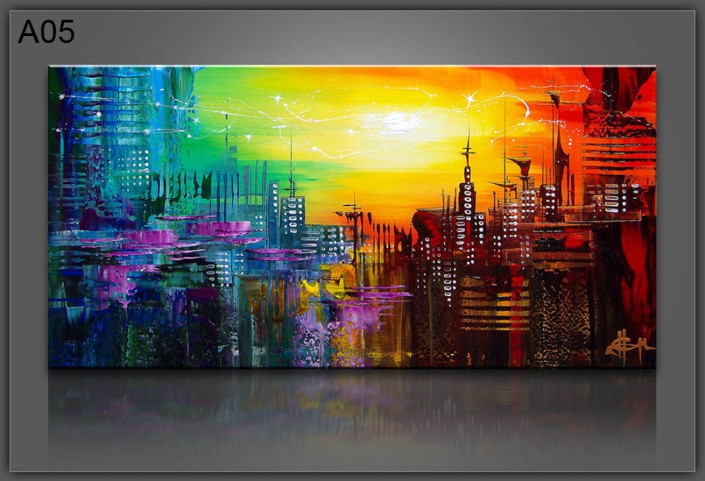 Framed wall art canvas painting wall pictures for living for Framed wall art for living room