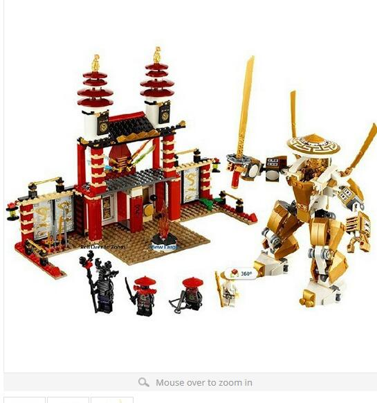 New original Bela Dojo Building Blocks Sets Golden Kay Minifigures Assembly Bricks Toys Compatible with Legoe<br><br>Aliexpress