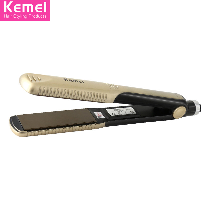 Kemei KM-327 Professional Hairstyling Flat Iron Styling Professional Hair Straightener styling tools tongs Hair Straightener(China (Mainland))