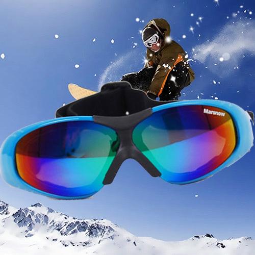 Men Women Eye-protection Ski Goggle Unisex Boy Girl TPU Frame Single Layer Outdoor Mountain Hiking Cycling wind proof Glasse(China (Mainland))