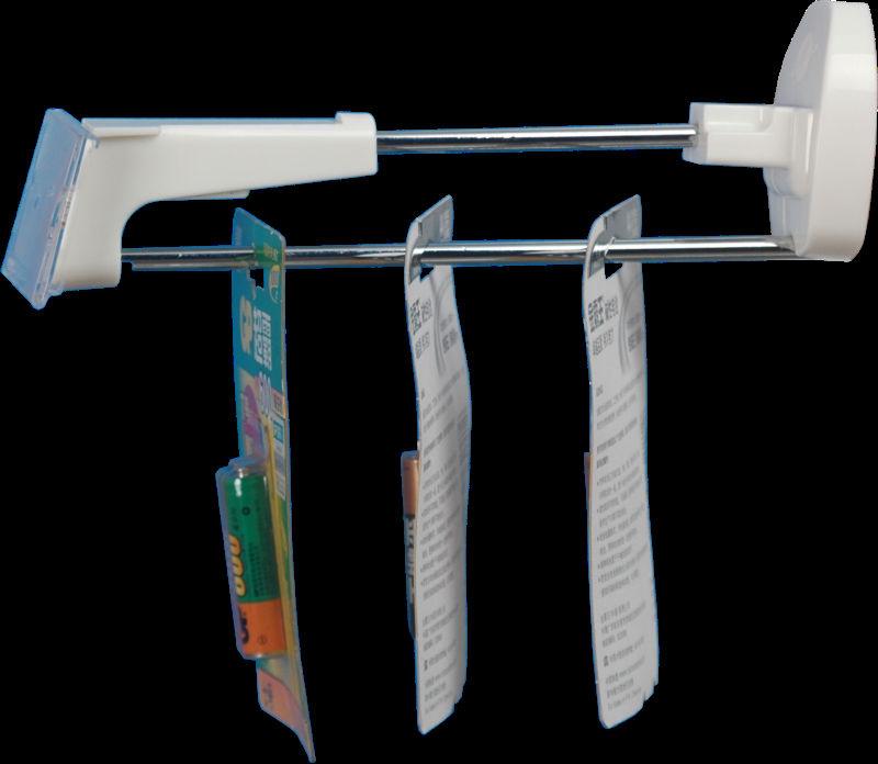50 pcs hooks+2pcs keys 23cm stores secure display hook(China (Mainland))
