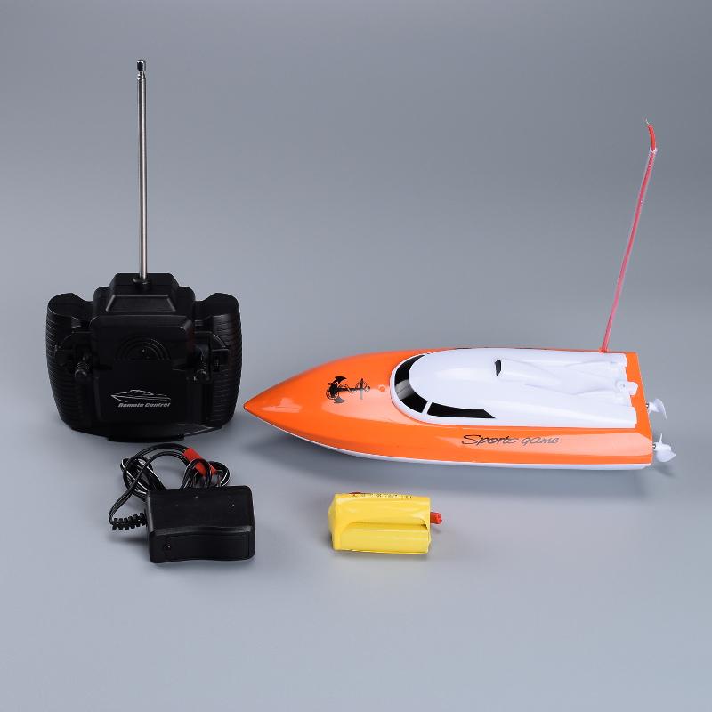 Heyuan 802 fishing boat mini rc racing boat realistic high for Rc boats fishing