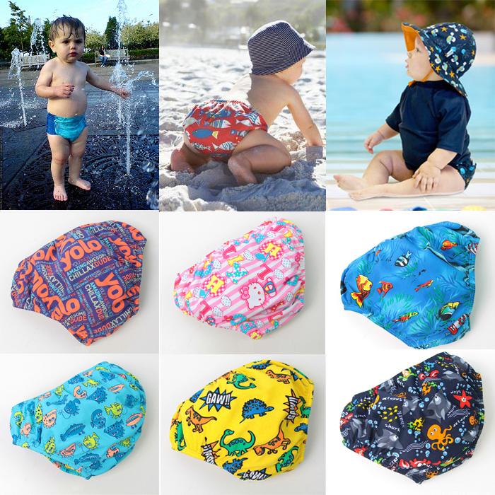 Купальный костюм для девочек Infant swimwear nb/24 baby swimming nappy