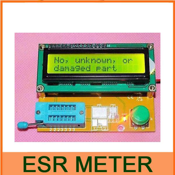Гаджет  1602LCD- ATmega168 Transistor Tester Diode Triode Capacitance ESR METER Digital LED  LC Meter MOS PNP NPN   None Электронные компоненты и материалы