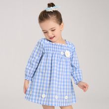 Buy Girls Plaid Dress Tutu Dresses Long Sleeve Little Girl 2017 Spring New Baby Girls Clothing Kids Children Clothes W8102 for $11.39 in AliExpress store