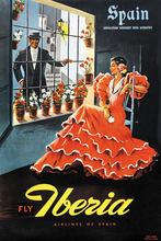 Carteles de viaje de Turismo de España Iberia-España adhesivo mural clásico lienzo pinturas póster Vintage decorativo Home Bar decoración regalo(China)