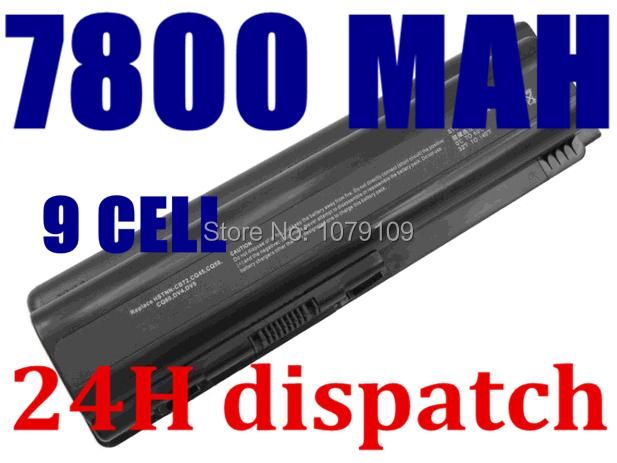 New 9Cell Laptop Battery for HP Pavilion DV4 DV5 dv6-1000 dv6-2000 G50 G60 G61 G70 G71 CQ40 CQ45 CQ50 HDX X16 Series(China (Mainland))