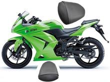 Buy Motorcycle Rear Passenger Pillion Seat Fits Kawasaki Ninja EX250 EX 250R 2008-2012 for $26.99 in AliExpress store
