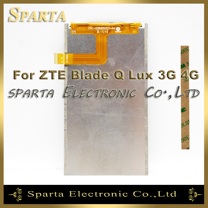 Mobile Phone LCD Display For ZTE Blade Q Lux Qlux 4G 3G LCD Display Digitizer(China (Mainland))