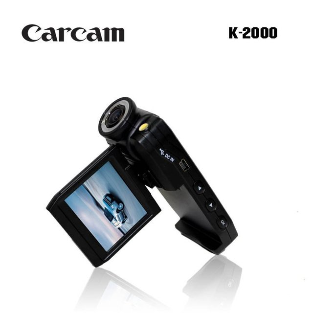 2.0inch 720P HD car black box DVR X6 with an extra rear view camera,wide angle 140Degree,,Camera rotation 180degree