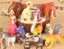 12pcs/lot Ice Age 5 Action Figure Toys 5cm PVC Ice Age Figure Model Doll Anime Brinquedos Toys For Kids