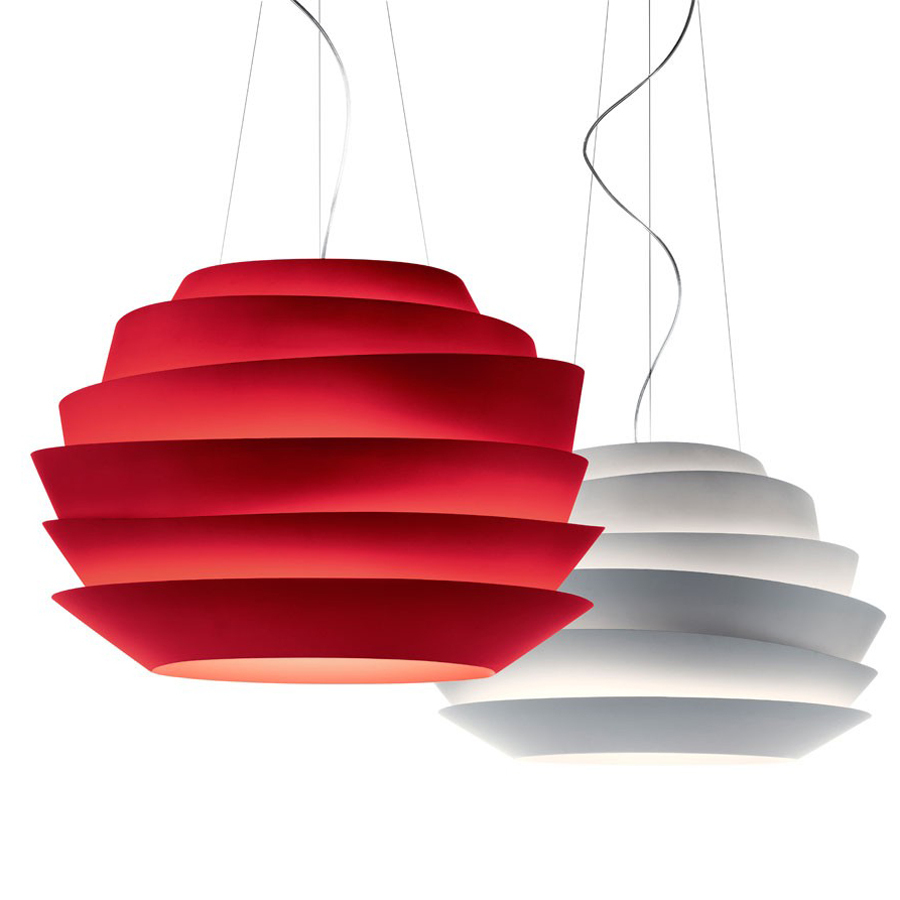 Modern Foscarini Le Soleil Wave Pendant Lights Suspension 40/60cm Rose Pendant Lamp Bedroom Hanglamp E27 Light Fixtures European(China (Mainland))