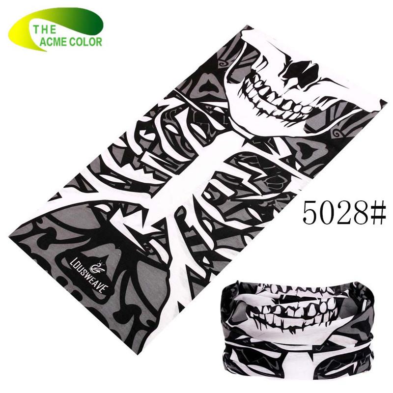 Anti-Uv New Magic Scarves for women/men Outdoor Sport Skull Bandanas Face Mask Bicycle Cap Seamless Knitting Scarf Warm Headwear(China (Mainland))