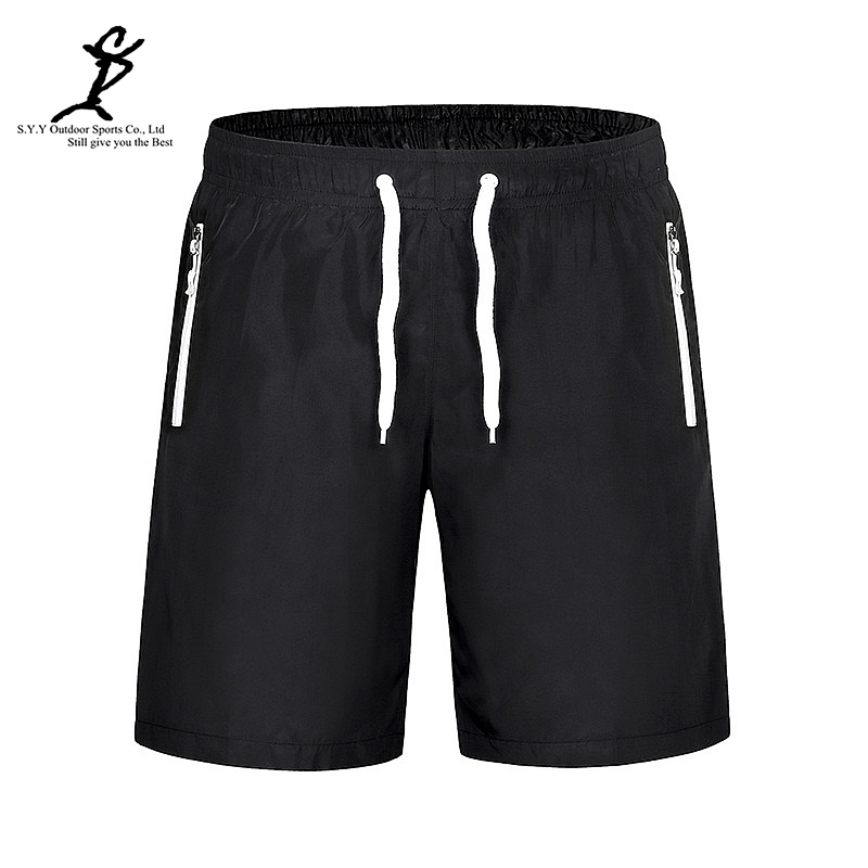 Men Sports Drawstring Black Outdoor Running Board Shorts Hot Gym And Fitness Short Professional Male Quick Dry Short Pants(China (Mainland))