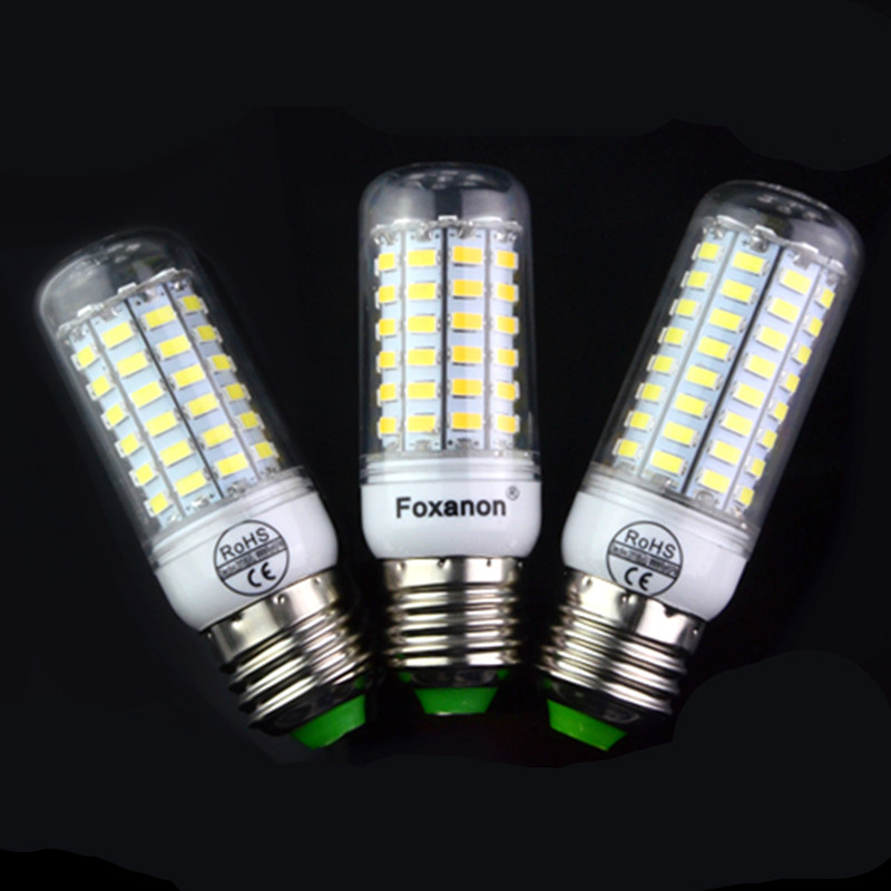 led lamp e27 110v light bulbs led 24 36 48 56 72 eds luz lampada ampolletas led replacement for chandelier lighting(China (Mainland))