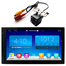 Android 2 DIN 4.4 Universal Car Stereo 7 inch 1024x600 GPS Navigation, WIFI Radio Bluetooth USB/SD Player 1.6G Quad Core CPU 1G(China (Mainland))