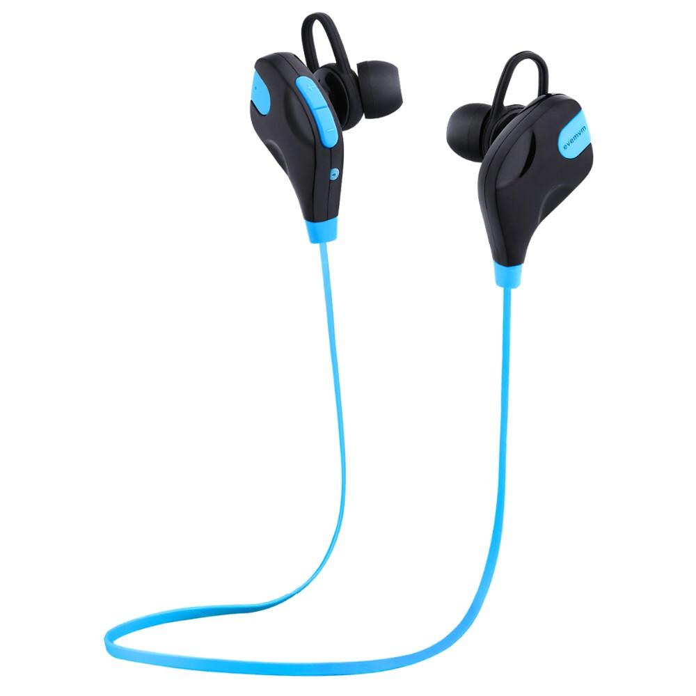 Ear Hook  Wireless Bluetooth 4.2 Stereo Earphone Fashion Sport Running Headphone Studio Music Headset with Microphone