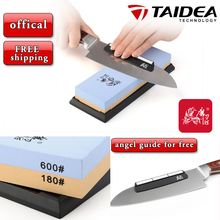 TAIDEA T6618W double Side 180/600 Grit Professional Knife Sharpener Sharpening Grinding Stone Whetstone(China (Mainland))