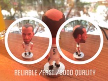 Soccerwe football player Zidane classic simulation action figures collectible model doll(China (Mainland))