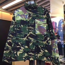 Men off white jackets Personality Design Winter Autumn Camouflage mens jackets and coats Shrinkable hats off-white Virgil Abloh(China (Mainland))